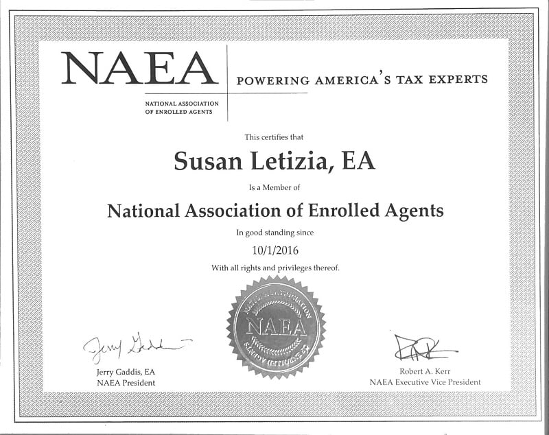 NAEA tax experts of SCL