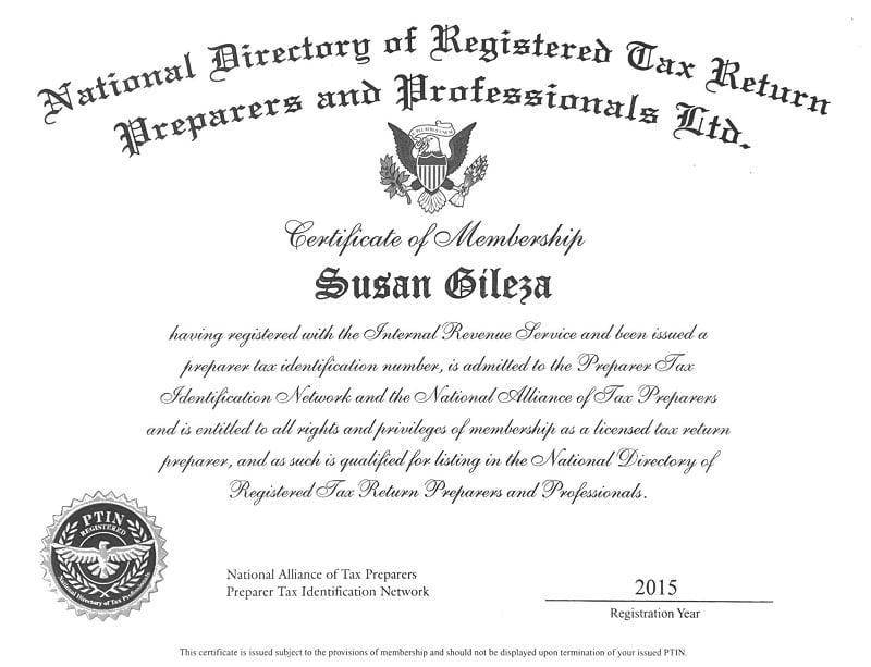tax return preparers of SCL